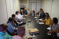 Reunião da sala de situação do Governo do Estado na CMG