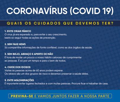 Coronavírus (Covid 19)